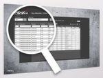Der PNX-Monitor hat ein einfaches Bedienmenue und erlaubt eine schnelle Übersicht über die Busteilnehmer.