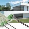 Kostengünstige Anschlusstechnik für smarte Gebäude
