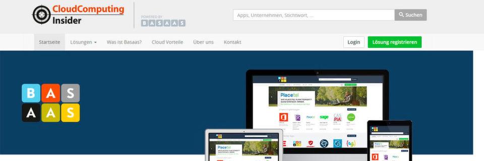 Cloud-Lösungen finden, vergleichen und kostenfrei testen - im neuen Marktplatz von CloudComputing-insider und German Businesscloud/Basaas finden sich hierfür ausgezeichnete Kandidaten. (Bild: )
