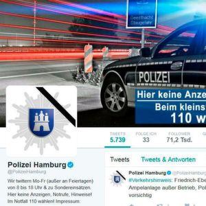 Twitter-Marathon in Hamburg