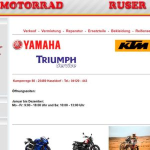 Motorrad Ruser bietet Karrierechance