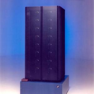 Der Super-Computer Deep Blue besiegte 1997 den Schachweltmeister.