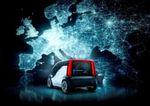 """Das autonom fahrende Konzeptfahrzeug verfügt über eine """"Emotion Engine"""", einen mit künstlicher Intelligenz versehenen Bordcomputer, der in der Lage ist, eigene Emotionen zu entwickeln und so zu einer besseren Kommunikation zwischen Fahrer und Fahrzeug beiträgt."""