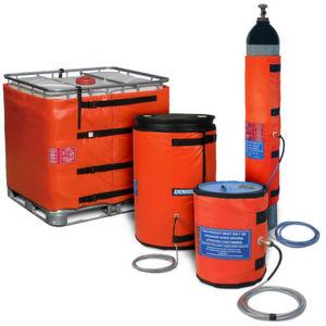 Die Heizmäntel für Gasflaschen von DENIOS sind speziell für den Einsatz im Ex-geschützten Bereich konzipiert. Die durch das silikonbeschichtete Glasgewebematerial flexiblen Heizmäntel halten die Gasflaschen auf einer erforderlich konstanten Temperatur und sorgen so für die Stabilität des Gasdurchflusses.