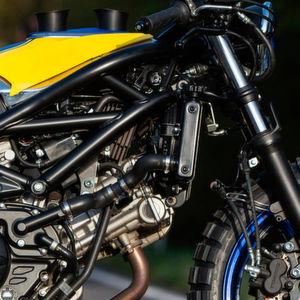 Suzuki-Händler veredeln die SV 650