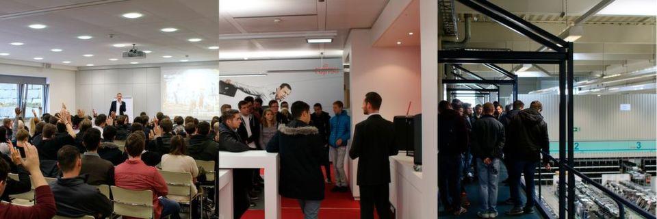 Knapp 450 Azubis von Fujitsu-Partnern haben an den inzwischen drei Channel-Azubi-Days im Augsburger Fujitsu-Werk teilgenommen.