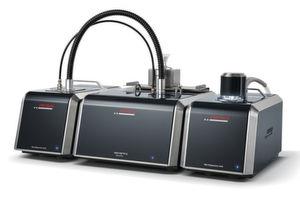 Laser-Partikelmessgerät Analysette 22 mit Trocken- und Nass-Dispergiereinheit