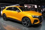 Der Audi Q8 Concept ist ein echter Publikumsmagnet in Genf. Das SUV-Coupé soll dem für 2018 geplanten Serienmodell schon sehr nahe kommen.