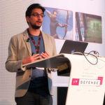 Auf der Sicherheitskonferenz IT-Defense 2017 in Berlin zeigte der amerikanische Doktorand Tavish Vaidya von der Georgetown University, wie sich Sprachassistenten austricksen lassen.