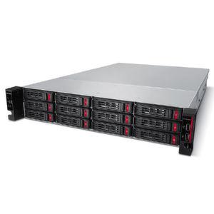 Die TeraStation 51210RH bringt 12 Laufwerke auf vier Höheneinheiten unter.