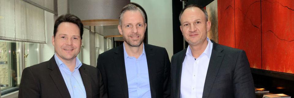 Die Siewert-&-Kau-Geschäftsführer (v. l.) Markus Hollerbaum, Björn Siewert und Thorsten Daniels bezeichnen ihr Distributionsmodell als 360-Grad-Ansatz.
