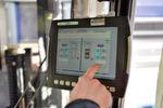 Im Wareneingang kommen WinCC-basierte und ergonomische Touch-Dialoge zum Einsatz.