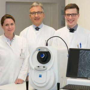 Augenklinik der Uni Bonn nutzt optischen Kohärenztomographen