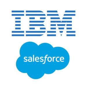 IBM und Salesforce haben eine strategische Zusammenarbeit vereinbart.