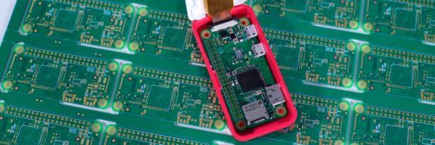 Raspberry Pi Zero W: Der kleinste RPi eignet sich dank Onboard-WLAN bestens für mobile Anwendungen