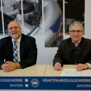 Kfz-Gewerbe Bayern: Starkes Jahr mit Gegenwind