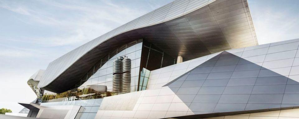 Ausgelegt auf Dynamik und Wachstum – wie die aktuellen Geschäftszahlen: die BMW-Zentrale in München.