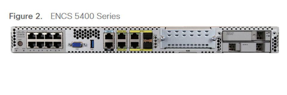 Die drei Modelle der ENCS Series 5400 unterscheiden sich vor allem in Sachen Rechenleistung.