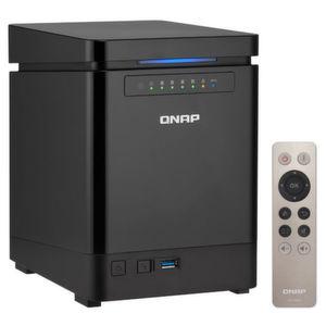 Qnap bietet das TS-453Bmini an, ein kompaktes 4-Bay NAS mit flottem Quadcore-Prozessor.