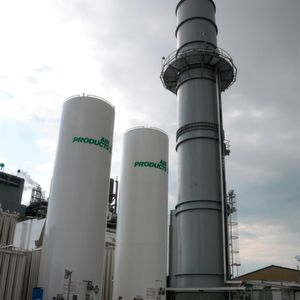 The demand for industrial gases is driven by rapid industrialization and increasing population.