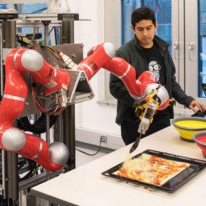 Pizza backende Roboter – Wenn Maschinen kochen lernen
