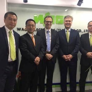 Wago eröffnet neuntes Vertriebsbüro in China