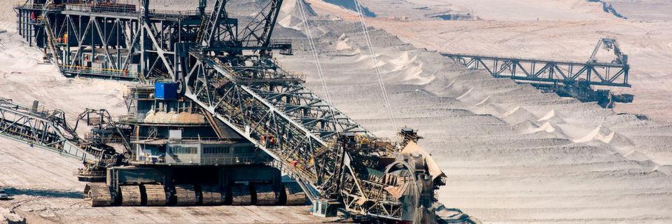 Die größte Maschine der Welt istein Schaufelradbagger für die Braunkohleförderung.