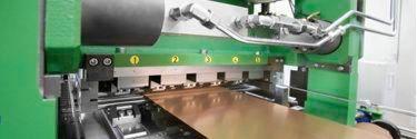 Streck-Biege-Richtanlage für dünnste Kupferbänder mit minimalen Toleranzen