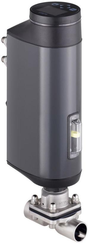 Bürkert ergänzt sein Membranventil-Angebot um ein elektromotorisches Absperrventil und ein elektromotorisches Regelventil.