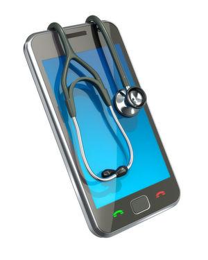 Gehören bald untrennbar zusammen: Medizintechnik und Mobilgeräte.