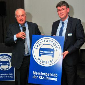 Alfons Behr als Obermeister bestätigt