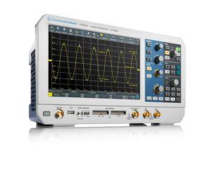 Das R&S RTB2000 bietet als Einsteiger-Messgerät einen A/D-Wandler mit 10 Bit. Klare Kampfansage an den Markt.