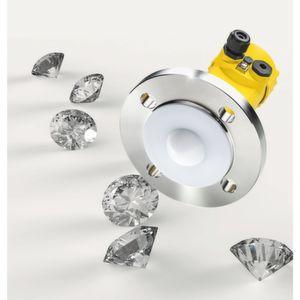 Ein Diamant in der Füllstandmessung: Erfahren Sie am Beispiel Diamanterzaufbereitung, welche Vorteile die Radarfüllstandmessung mit 80 GHz unter rauesten Bedingungen bringt.