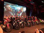 Die Gewinnerbikes 2017: Viermal BMW, zwei Mal KTM, je einmal Ducati, Honda und Vespa.
