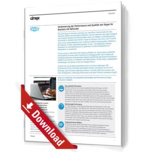 Bessere Performance & Qualität von Skype for Business