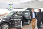 Für Interesse sorgte der Skoda-SUV Kodiaq. Der wird allerdings vielfach mit einem Dieselaggregat ausgestattet. Diese Motorentechnik sorgt derzeit für viel Diskussion, ...