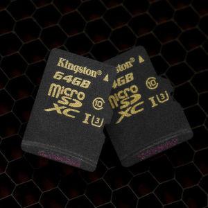 Kingstons Micro-SD-Karten der Goldserie sind schnell genug für 4K-Aufzeichnungen.