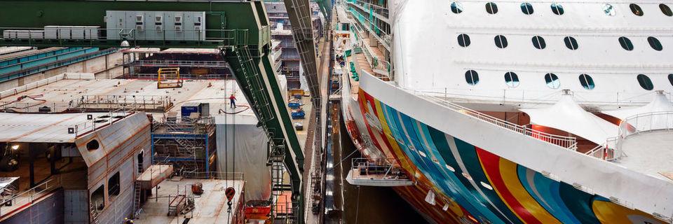 """Der von Rittal veranstaltete Branchentag """"Schiff & See"""" beleuchtet die Chancen der Digitalisierung auf die maritime Industrie."""
