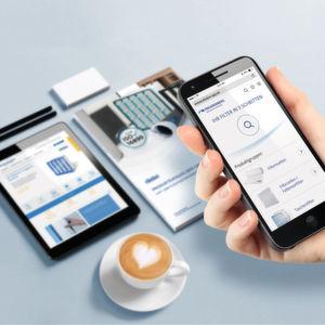 Freudenberg Filtration Technologies bietet erstmals den mobilen Zugriff auf sein komplettes Produkt- und Serviceangebot für die Luftfiltration.