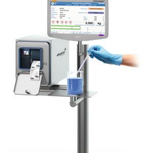 Neue Prozessstation mit PC-integrierter Wägetechnik