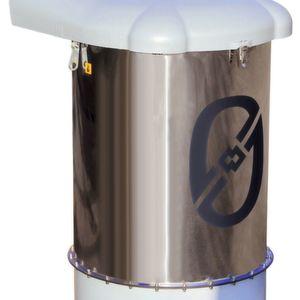 Siloentstaubungsfilter mit nanobeschichteten Filtermedien der EPA-Klasse