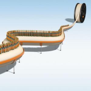 Tribo-Filament für die Lebensmitteltechnik