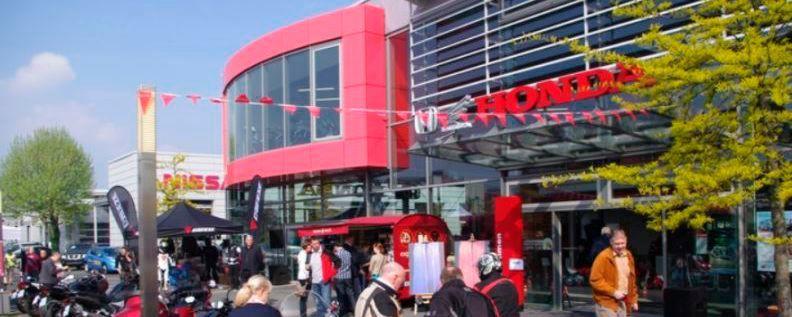 Anlaufstelle für Honda-Fans nicht nur im Großraum der NRW-Metropole: das Honda Center Düsseldorf.