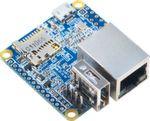 NanoPi Neo ist der kleinste Single Board Computer der Welt mit Quad Core CPU H3 Cortex A7 Prozessor, 512 MB Ram. Das Board ist gerade mal 4x4cm groß und ist ein sog. headless System ohne HDMI Schnittstelle. Besonders klein für den Einbau in Prototypen geeignet. Er besitzt eine GPIO Steckleiste und eine UART Schnittstelle. Diverse Shields wie z.B. ein Audio Board und ein Power Dock runden das Zubehör ab. Software:u-boot, UbuntuCore and Android