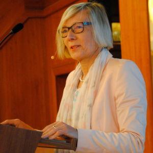 Karin Milger, Vorsitzende Richterin am BGH, erläuterte die BGH-Urteile der vergangenen Monate.