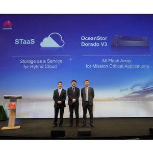 Huawei bringt Storage in die Cloud