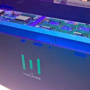 HPE präsentiert endlich ersten Prototypen von The Machine – noch ohne Memristoren