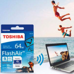 Toshiba stellt neue FlashAir-Generation vor