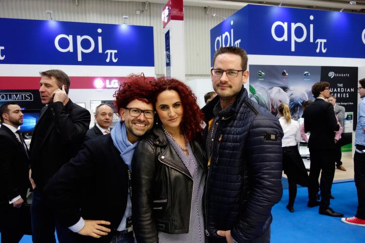 Rot teilt gerne aus, Besa, mit Maciej Wieczorek, ZOTAC, mit Frank Seifert, Fnatic.