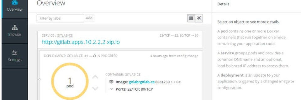 Docker-Setup für die OpenShift Container Plattform